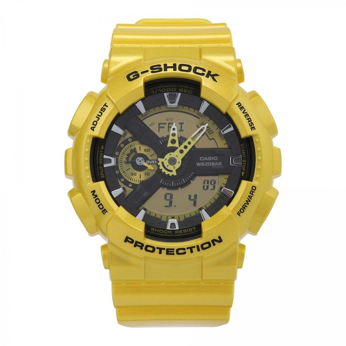 63c99d1d21802 relogio casio g shock ga 110gb dourado oferta novo p agua. Carregando zoom.