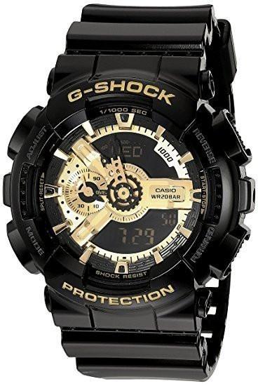 2918f5a7aa6 Relogio Casio G Shock Ga 110gb Preto dourado - R  500
