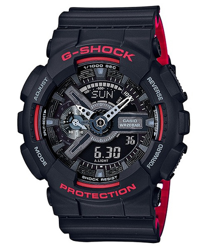 relógio casio g-shock ga-110hr-1a original