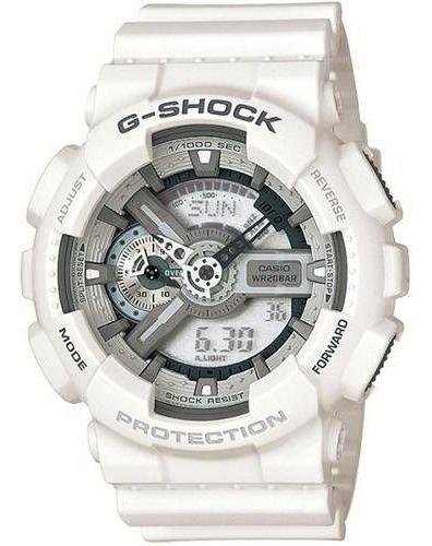 relógio casio g-shock ga-110lp-7adr branco