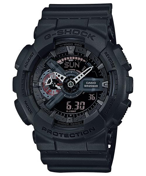 609101c4b49 Relógio Casio G-shock Ga-110mb-1a Military Black - R  500