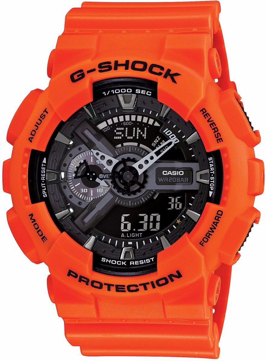 675e9875e68 relógio casio g-shock ga 110mr 4a wr200 h.mund 5 alarmes pt. Carregando  zoom.