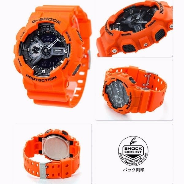9b987dcbed2 Relógio Casio G-shock Ga 110mr 4a Wr200 H.mund 5 Alarmes Pt - R  549 ...