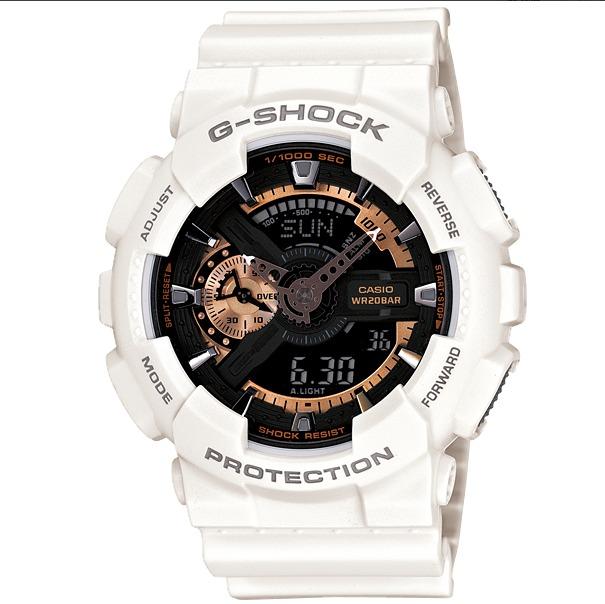 de791c41edb Relógio Casio G-shock Ga-110rg-7a Branco Ga110 Ga-110 Ga100 - R  598 ...