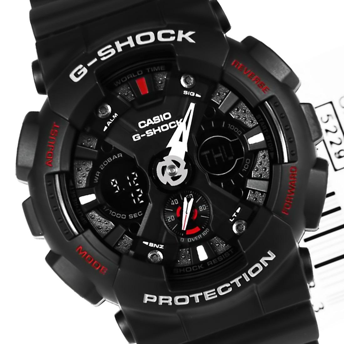 Relógio Casio G Shock Preto GA-300-1A - galleryrock