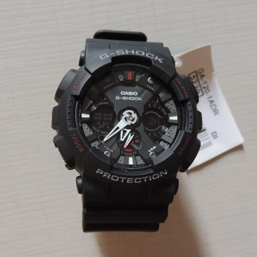 3d92b562467 Relógio Casio G-shock Ga-120-1ad Masculino Frete Grátis - R  797