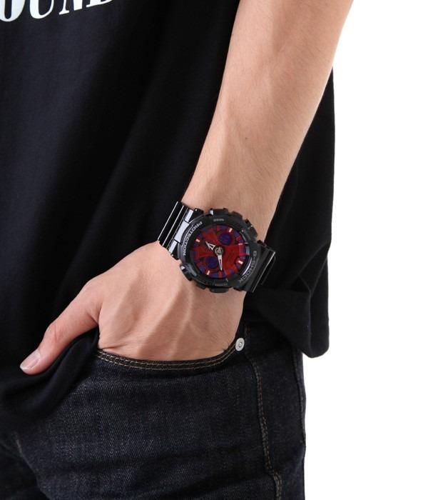 0c10e84d582 Relógio Casio G-shock Ga-120 Wr-200 5 Alarmes Hora Mundial V - R ...