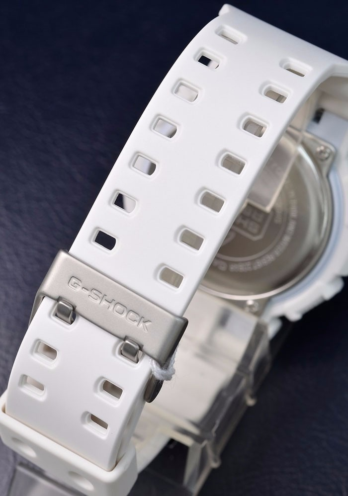 337e2138e9d relogio casio g-shock ga 120a-7 branco 100% original. Carregando zoom.