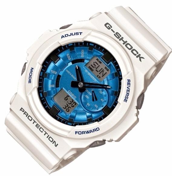 d0427414a15 Relógio Casio G-shock Ga-150 Mf-7 W200 5 Alarmes H.mundial B - R  639