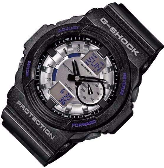 53dc5f39d79 Relógio Casio G-shock Ga-150 Mf-8 W200 5 Alarmes H.mundial P - R ...