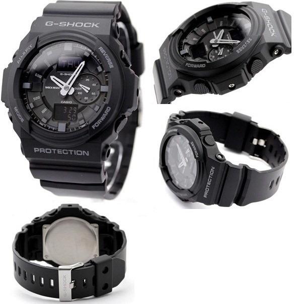 aed0fc1175f Relógio Casio G-shock Ga-150 Wr-200 5 Alarmes Hora Mundial P - R ...