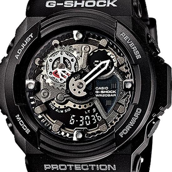 329a7807bad Relogio Casio G-shock Ga-300 Preto - R  539
