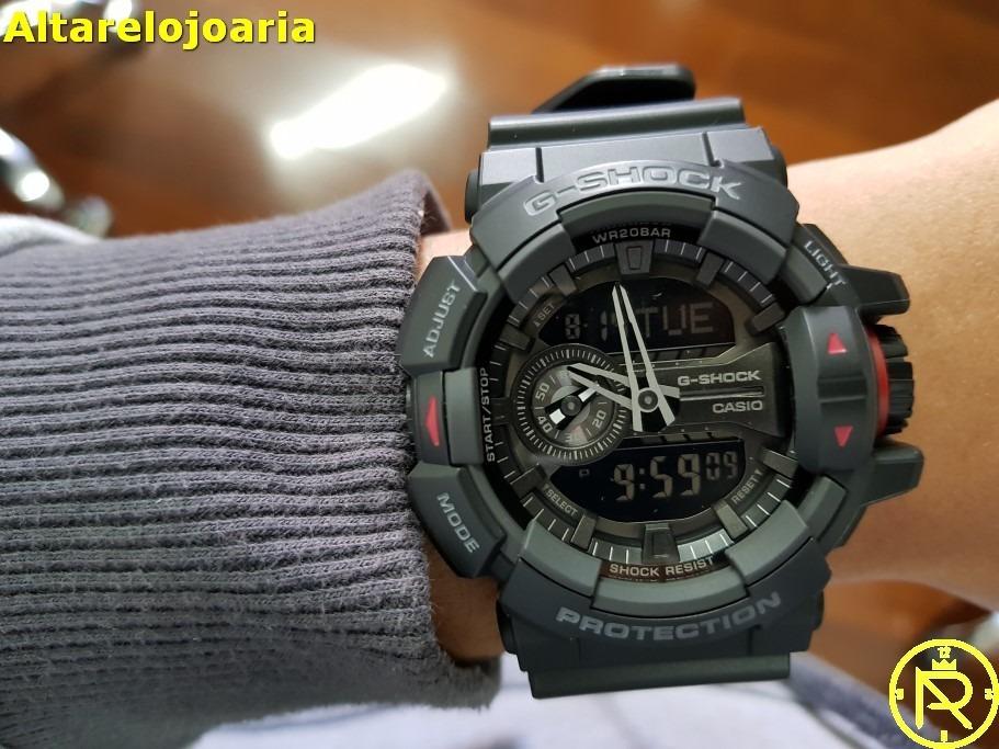 b6c41a1ee09 relógio casio g shock ga 400 1bdr. Carregando zoom.