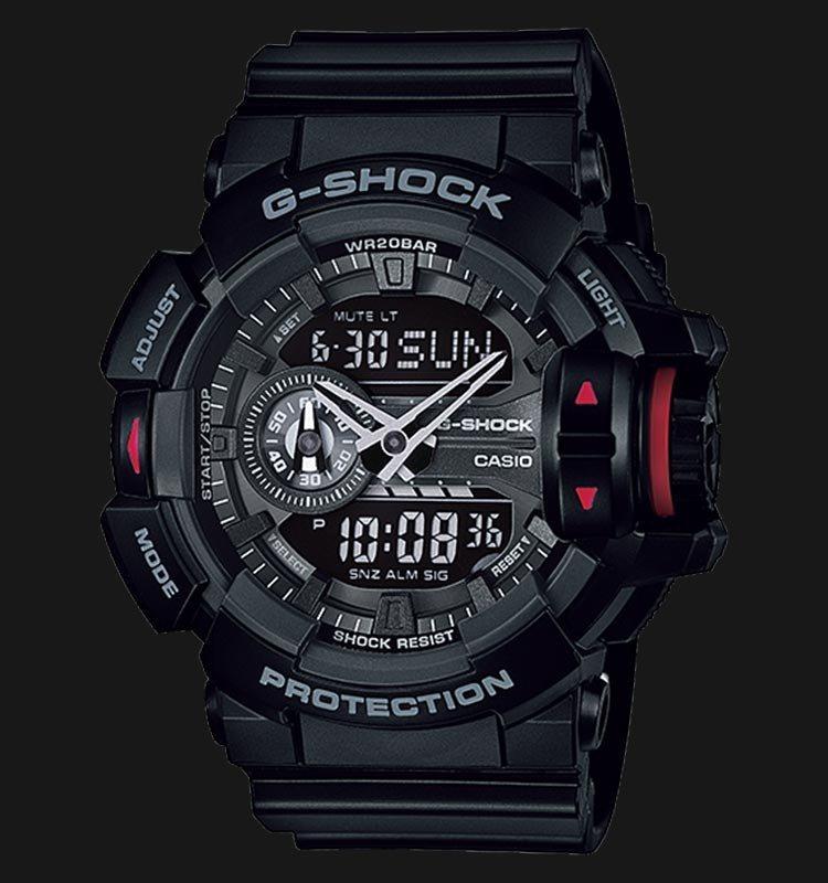 4a2b8b8b743 relógio casio g-shock ga-400-1bdr original. Carregando zoom.