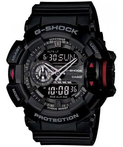 relógio casio g-shock ga-400-1bdr rotary switch