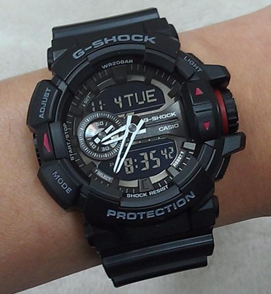 610b1979551 Relogio Casio G-shock Ga-400 Anadigi Formato 12 E 24 Horas - R  689 ...