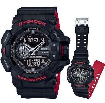442c9cefcb9 Relogio Casio G-shock Ga-400-hr Ga400 Promoção Ga-400-1b - R ...