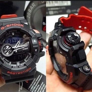 906709044ea Relogio Casio G-shock Ga-400-hr Ga400 Promoção Ga-400-1b - R  587