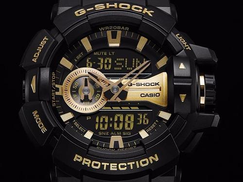 relogio casio g-shock ga-400gb-1a 9dr original!!