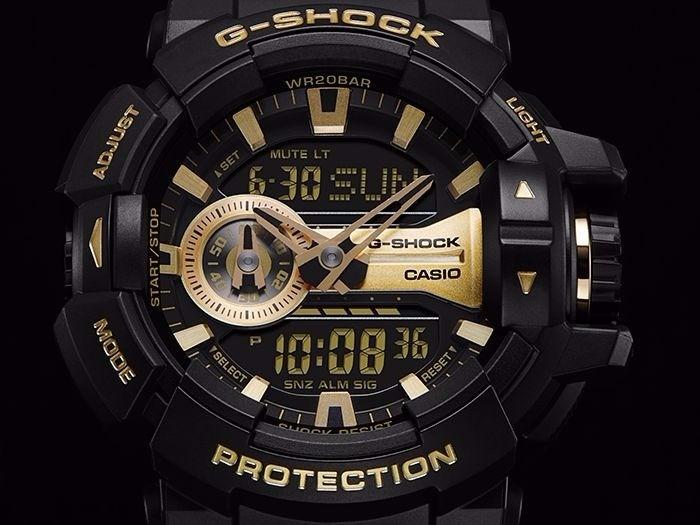 0b36e0fbffb Relogio Casio G-shock Ga-400gb-1a9 Manual Original!!! - R  578