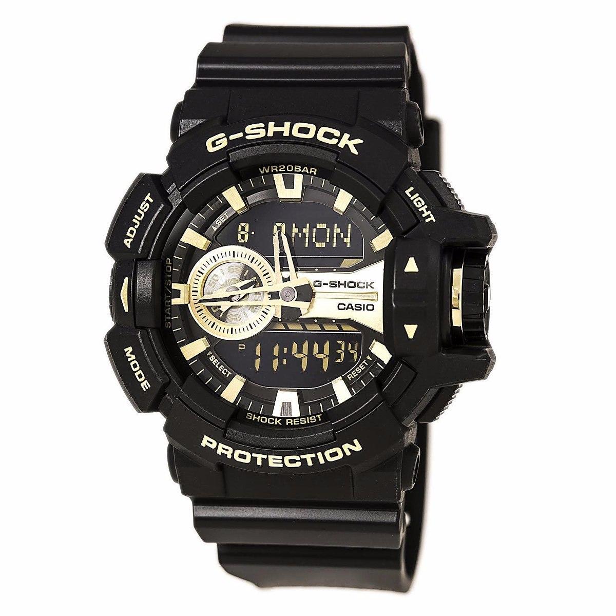 ccc7771b645 relogio casio g-shock ga-400gb-1a9 original manual. Carregando zoom.