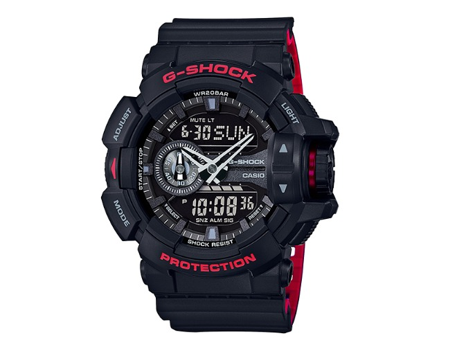 88579f2805c Relogio Casio G-shock Ga-400hr-1a Original Brinde Caneca G-s - R ...