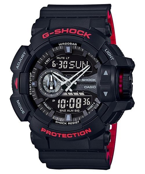 c478a0c78a1 Relógio Casio G-shock Ga-400hr-1adr Lançamento Ga 400 - R  424 ...