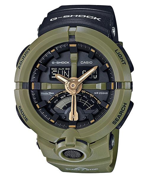 d59f2270221 Relogio Casio G-shock Ga-500p-3 Verde Ga-100 Ga-400 Em 12x - R  648 ...