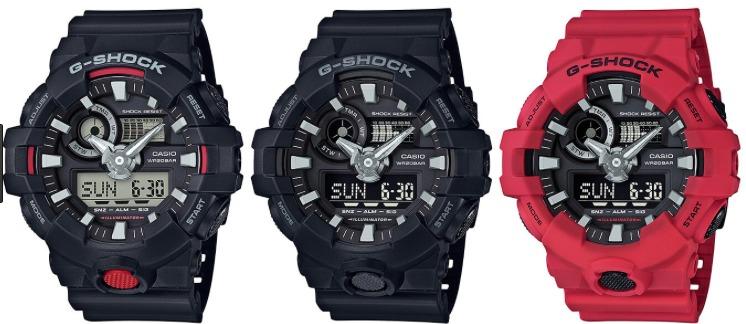 928fbc33d55 Relogio Casio G-shock Ga-700-1a Ga-700-1b Analógico digital - R  418 ...