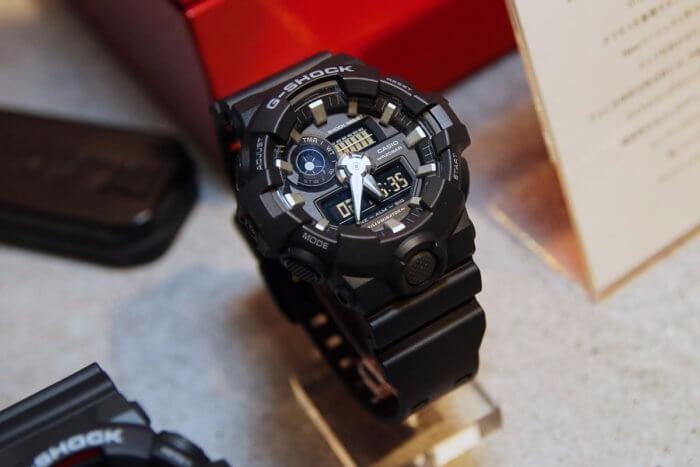 6a869023899 Relógio Casio G-shock Ga-700-1b Lançamento Ga700 Original - R  424 ...