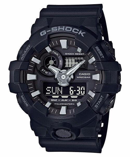 47ffa438e4a Relógio Casio G-shock Ga-700-1b Lançamento Ga700 Original - R ...