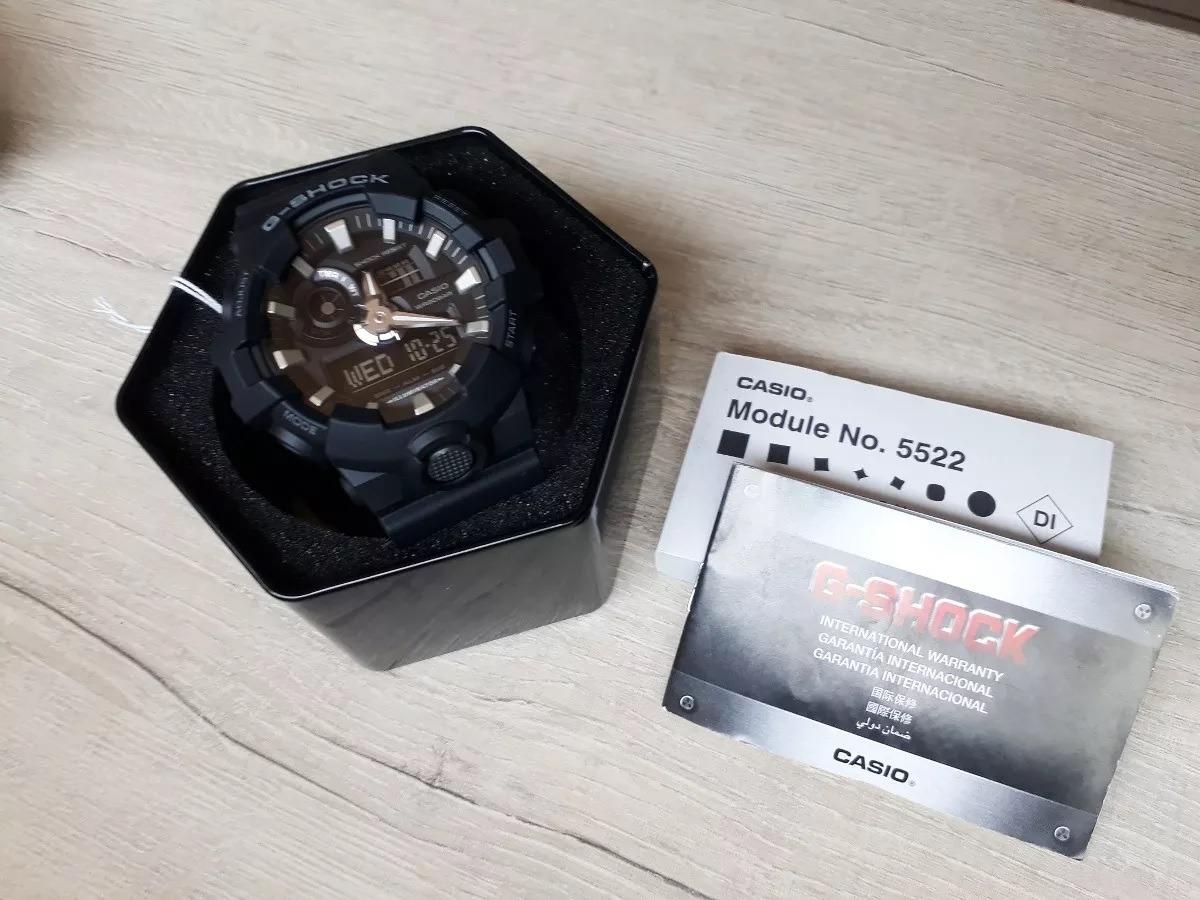 17195d2ff4e relógio casio g-shock ga-700-1bdr nova linha. Carregando zoom.