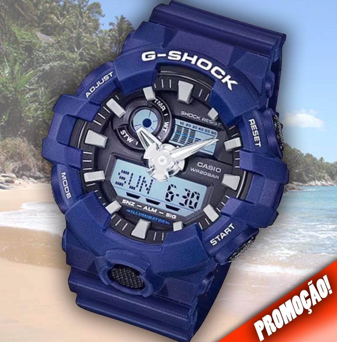 06e310455fd relógio casio g-shock ga-700-2adr imperdível! Carregando zoom.