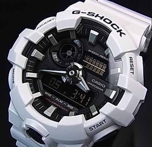 ee6eb94d613 Relogio Casio G-shock Ga-700 Branco Ga700 Original Promoção - R  439 ...