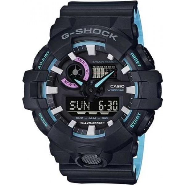 725deb097bd Relógio Casio G-shock Ga-700pc-1adr - R  833