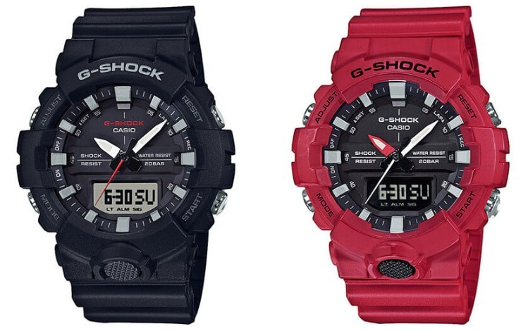 23419574131 Relogio Casio G-shock Ga-800-1 Ga-800-2 Analógica-digital Ga - R ...