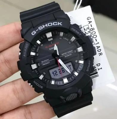 relogio casio g-shock ga-800-1a caixa menor  ga-800 original