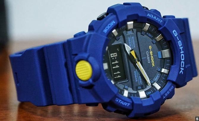 1f209a86dab Relogio Casio G-shock Ga-800-1a Ga800 Ga-700 Em 12x S juros - R  468 ...