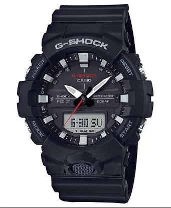 5ee26de3591 Relogio Casio G-shock Ga-800-1a Pret Ga800 Analógico-digital - R ...