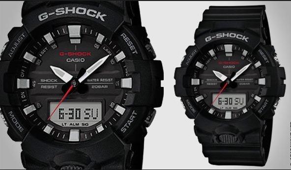 2185c36a637 Relogio Casio G-shock Ga-800-1a Pret Ga800 Analógico-digital - R ...