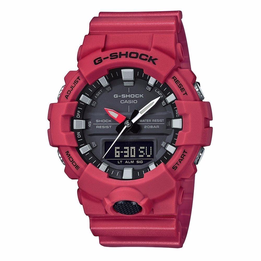 12f79de2ea6 relogio casio g-shock ga-800-4dr vermelho lançamento ga800. Carregando zoom.