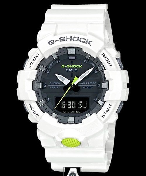 eb21538a13c Relogio Casio G-shock Ga-800sc-7 Branco Ana- Digital Ga-700 - R  448 ...