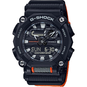 Relógio Casio G-shock Ga-900c-1a4dr Heavy Duty Original Nfe