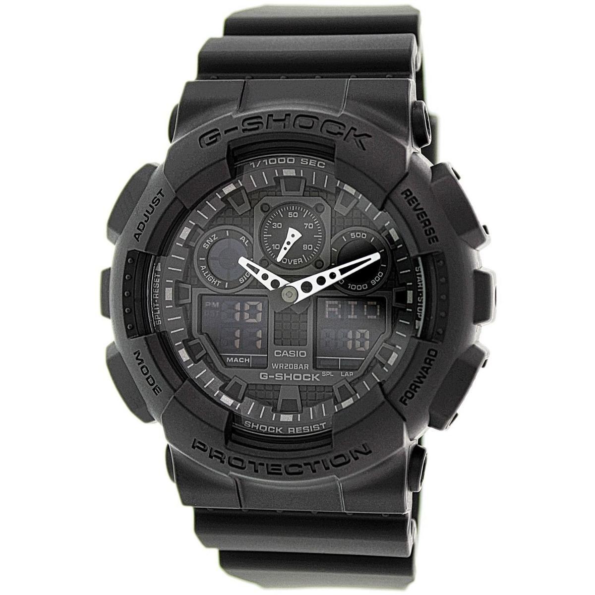 b0acda7670f relógio casio g-shock ga100-1a1 preto original promoção. Carregando zoom.