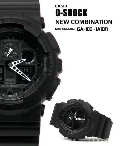 0e2331cfff7 Relogio Casio G-shock Ga100 Esportivo Resistente 20atm Preto - R ...