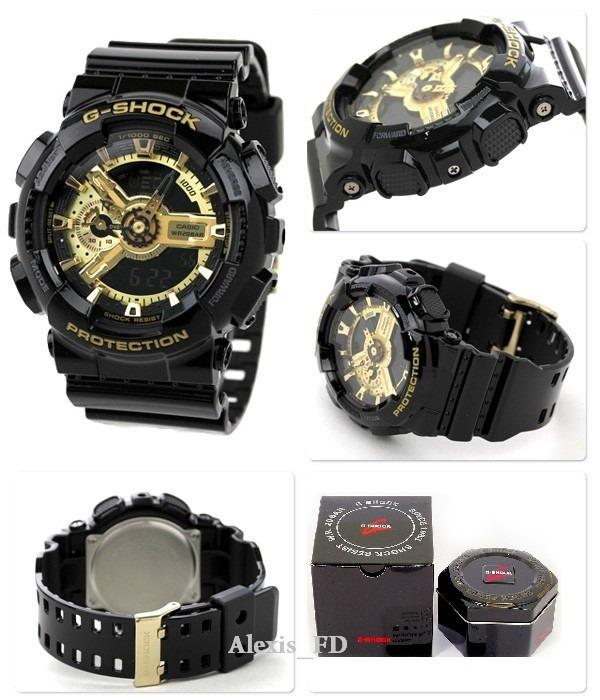 ec7880cf9f6 Relógio Casio G-shock Ga110gb 1a Preto Dourado 100% Original - R ...