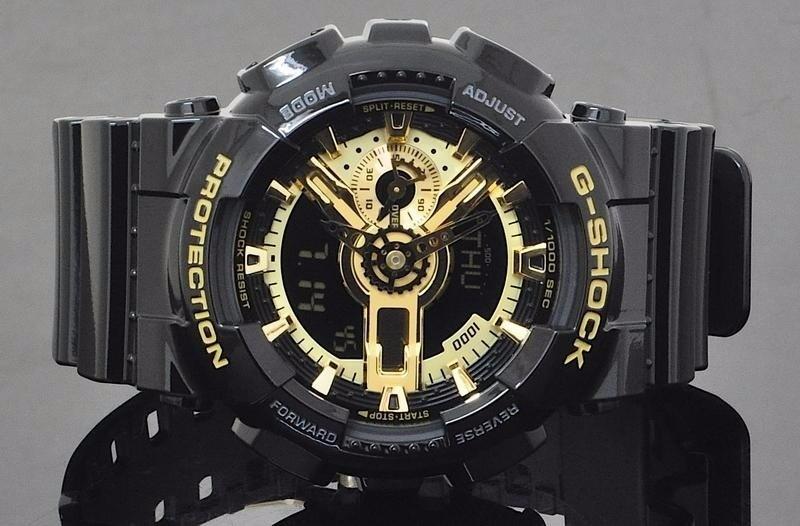 9e2f41cf224 relógio casio g-shock ga110gb 1a preto dourado novo original. Carregando  zoom.