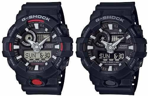 9379bafd40e Relógio Casio G-shock Ga700 1a Ga 700-1b Lançamento - R  549