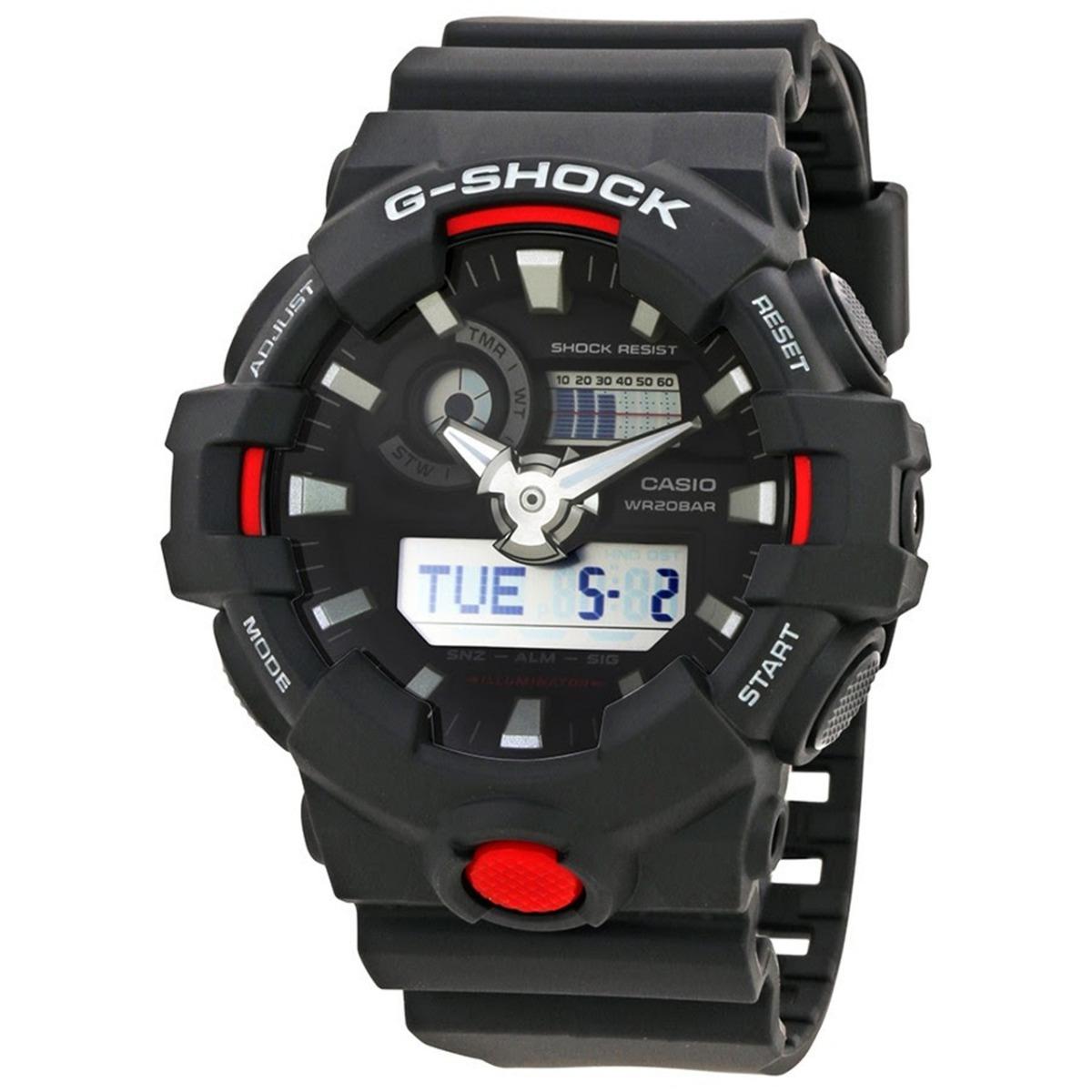 3f66706b8 relógio casio g-shock ga700 1a novo original oferta. Carregando zoom.