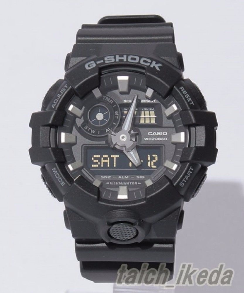 24d589d6435 relógio casio g-shock ga700 1b novo original envio imediato. Carregando  zoom.
